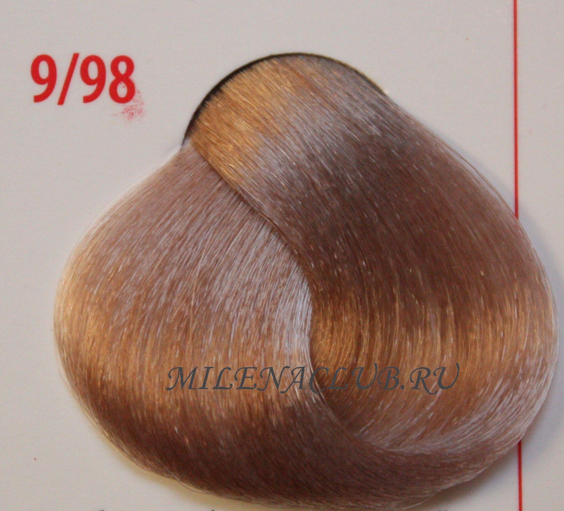 Крем-краска hair light crema colorante 844 (огненно-красный) (hair company) 100 мл